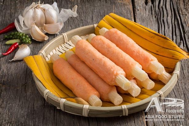 R-shrimp paste on sugar