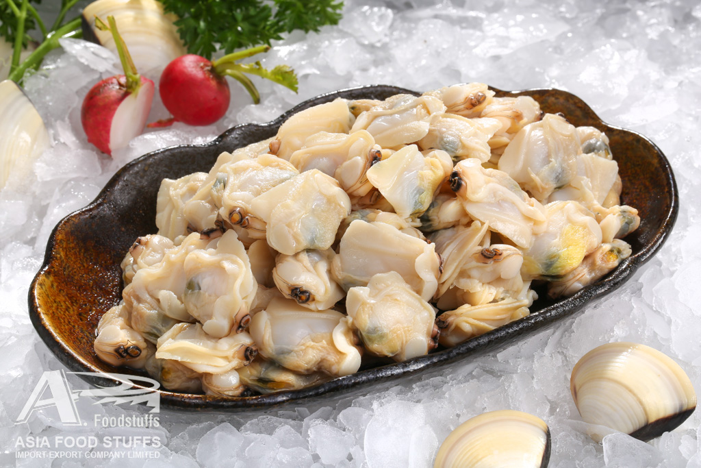 white clam meat